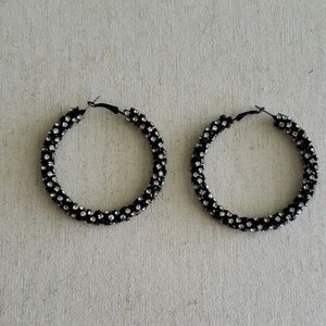 Jewelry - Sparkly Black Earrings